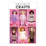 McCall´s Schnittmuster - 6005 - Kinder - Puppenbekleidung 001