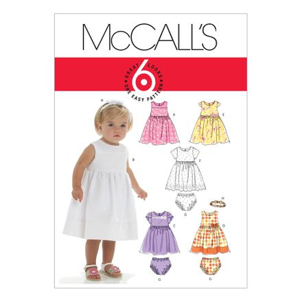 McCall´s Schnittmuster - 6015 - Kinder - Kleid