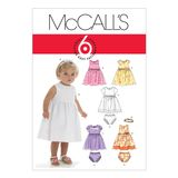 McCall´s Schnittmuster - 6015 - Kinder - Kleid 001