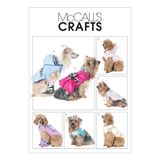 McCall´s Schnittmuster - 6218 - Accessoires - Hundemantel 001