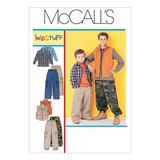 McCall´s Schnittmuster - 6222 - Kinder - Kombination 001