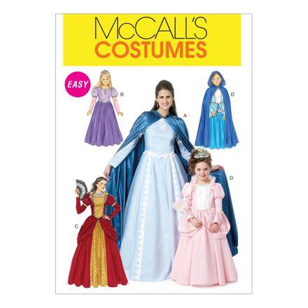 McCall´s Schnittmuster - 6420 - Kinder und Damen - Kostüm