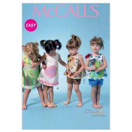 McCall´s Schnittmuster - 6541 - Kinder - Kleid