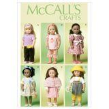 McCall´s Schnittmuster - 6526 - Kinder - Puppenbekleidung 001