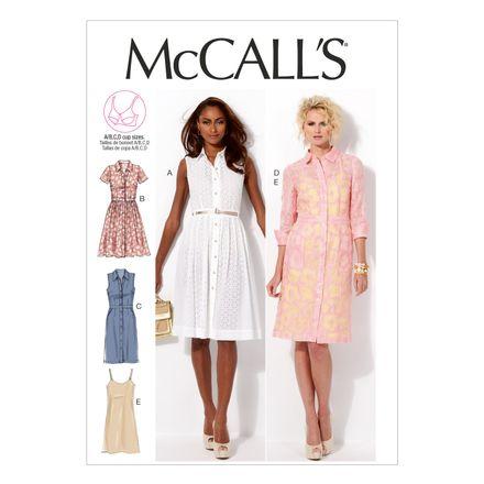 McCall´s Schnittmuster - 6696 - Damen - Kleid