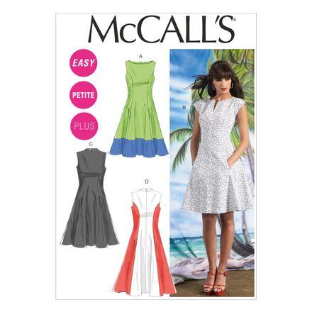 McCall´s Schnittmuster - 6741 - Damen - Kleid