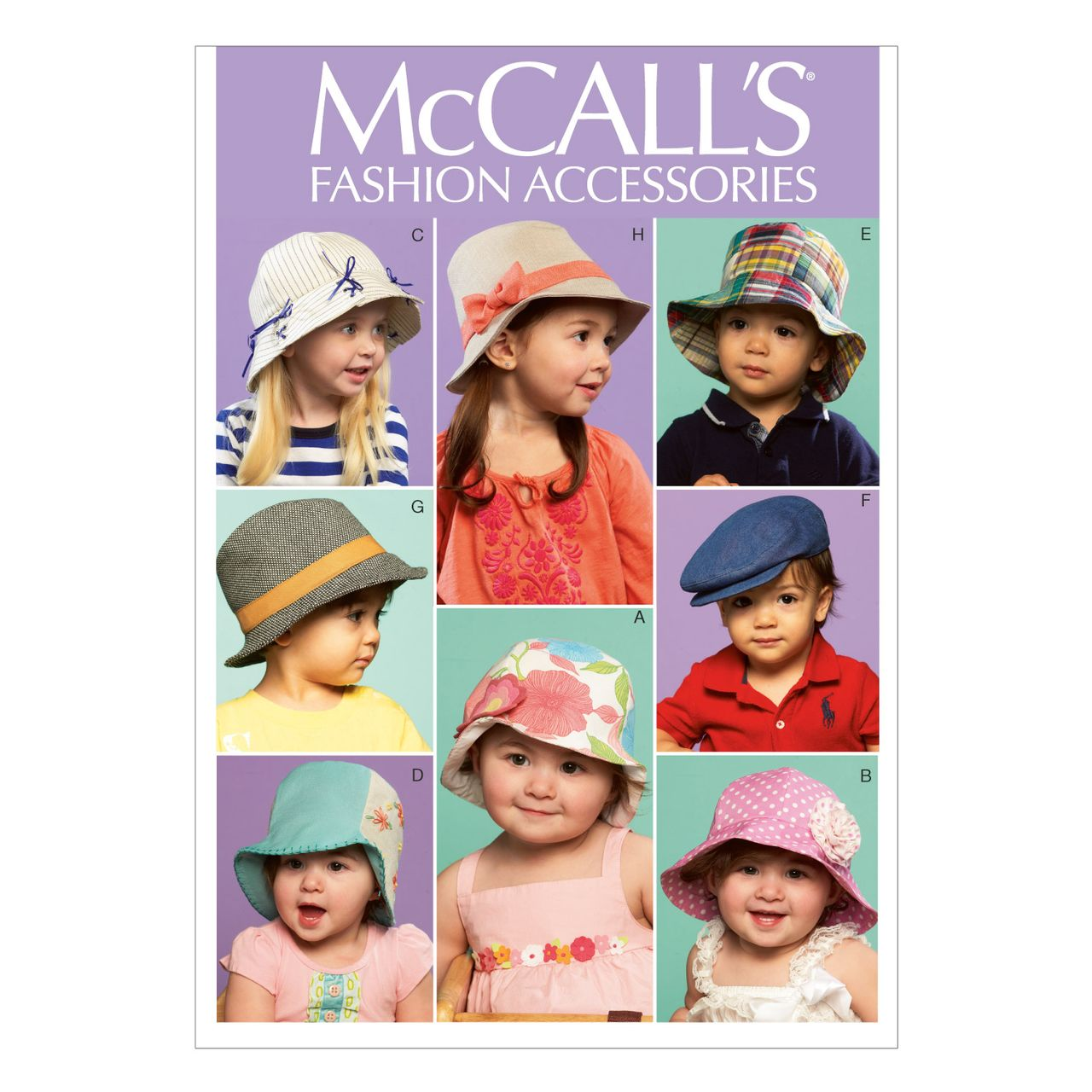 McCall´s Schnittmuster - 6762 - Kinder - Accessoires SCHNITTE ...