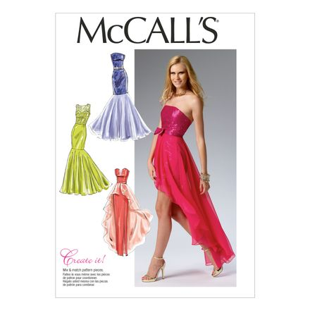 McCall´s Schnittmuster - 6838 - Damen - Kleid