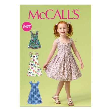 McCall´s Schnittmuster - 6878 - Kinder - Kleid