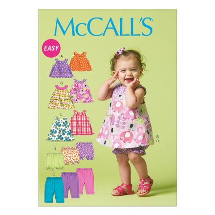 McCall´s Schnittmuster - 6912 - Kinder - Top, Hose