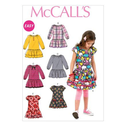 McCall´s Schnittmuster - 6982 - Kinder - Kleid