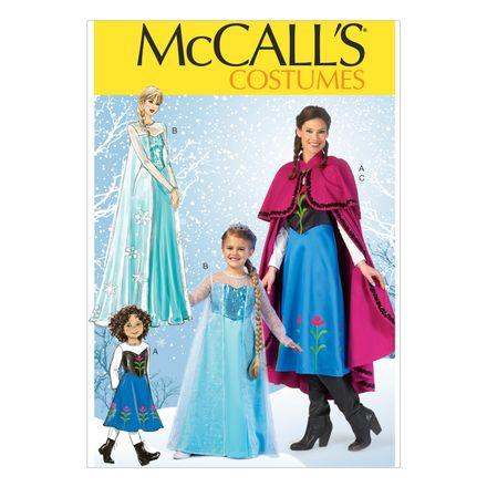 McCall´s Schnittmuster - 7000 - Kinder und Damen - Kostüm