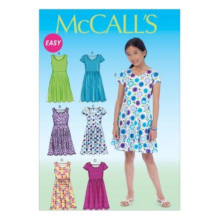 McCall´s Schnittmuster - 7079 - Kinder - Kleid