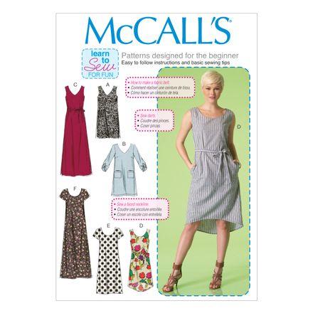 McCall´s Schnittmuster - 7120 - Damen - Kleid