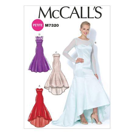 McCall´s Schnittmuster - 7320 - Damen - Kleid, Abendkleid