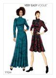 Vogue Schnittmuster V9264 - Damen - Kleid 001