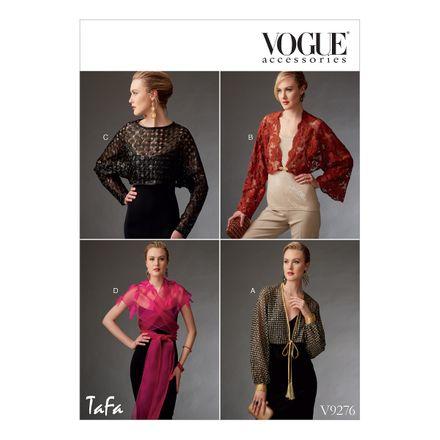 Vogue Schnittmuster V9276 - Damen - Jäckchen
