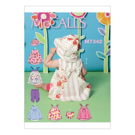 McCall´s Schnittmuster - 7342 - Kinder - Kleid
