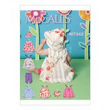 McCall´s Schnittmuster - 7342 - Kinder - Kleid 001