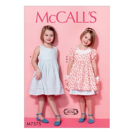 McCall´s Schnittmuster - 7375 - Kinder - Kleid