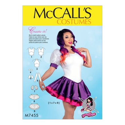 McCalls Costumes - Yaya Han Collection - Schnittmuster M-7455