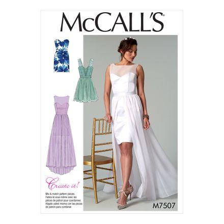McCall´s Schnittmuster - 7507 - Damen - Kleid