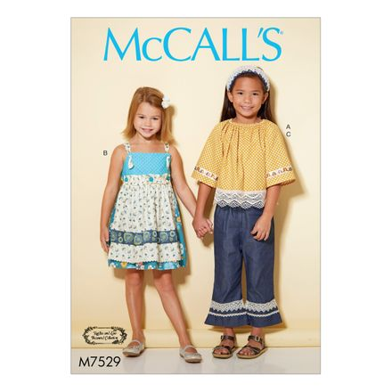 McCall´s Schnittmuster - 7529 - Kinder - Kombination