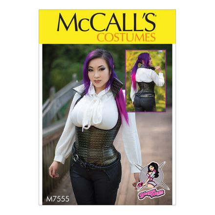 McCalls Costumes - Yaya Han Collection - Schnittmuster M-7555