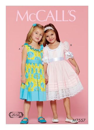 McCall´s Schnittmuster - 7557 - Kinder - Kleid