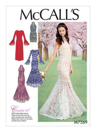 McCall´s Schnittmuster - 7569 - Damen - Kleid