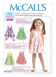 McCall´s Schnittmuster - 7587 - Kinder - Kleid 001