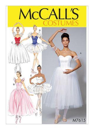 McCall´s Schnittmuster - 7615 - Damen - Kostüm