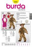 Burda Schnittmuster - 2502 - Kinder Kostüm - Tier 001