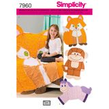 Simplicity Schnittmuster 7960 - Kinder-Quilt 001