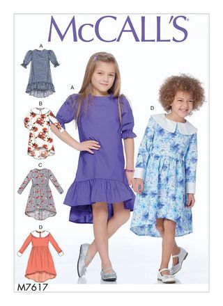 McCall´s Schnittmuster - 7617 - Kinder - Kleid