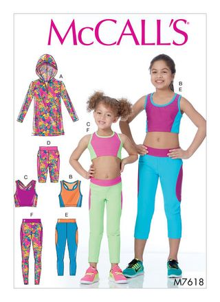 McCall´s Schnittmuster - 7618 - Kinder - Sportbekleidung