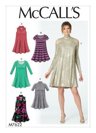 McCall´s Schnittmuster - 7622 - Damen - Kleid