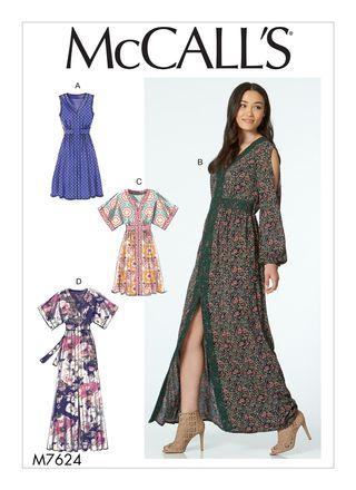 McCall´s Schnittmuster - 7624 - Damen - Kleid