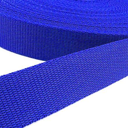 Gurtband - blau, Breite: 25 mm