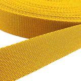 Gurtband - gelb, Breite: 25 mm 001
