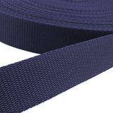 Gurtband - dunkelblau, Breite: 25 mm 001