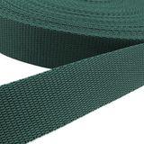 Gurtband - grün, Breite: 25 mm 001