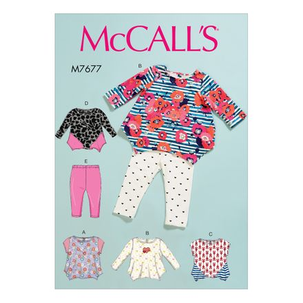 McCall´s Schnittmuster - 7677 - Kinder - Kombination