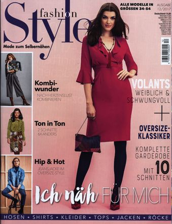 fashion Style - Modemagazin - 12/2017