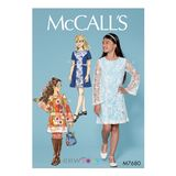 McCall´s Schnittmuster - 7680 - Kinder - Kleid 001