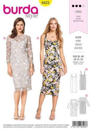 Schnitt - 6423 - Kleid