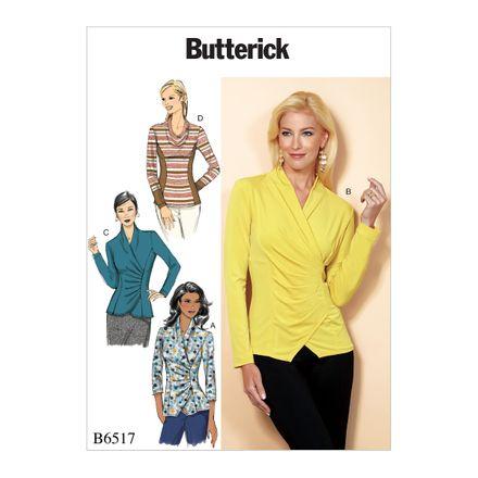 Butterick Schnittmuster - 6517 - Damen - Shirt