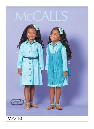 McCall´s Schnittmuster - 7710 - Kinder - Kleid