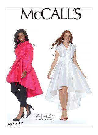 McCall´s Schnittmuster - 7727 - Damen - Kleid