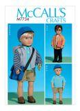 McCall´s Schnittmuster - 7734 - Kinder - Puppenbekleidung 001